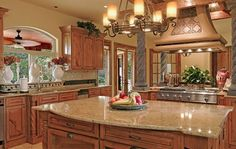 warm granite kitchen | Pictures Of Warm White Cabinets With Lighter Granite Kitchens