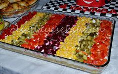 OLSADA YESEK SUZAN: KUMPİR SALATA Salad Menu, Salad Dishes, Crab Stuffed Avocado, Turkish Salad, Cottage Cheese Salad, Turkish Recipes, Ethnic Recipes, Healthy Eating Habits, Easy Salads