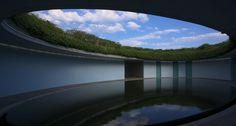 Chichu Art Museum on Naoshima island, Japan. Designed by Tadao Ando. (Collection includes installation by James Turell.) Stay on site at the Hotel Benesse House | Benesse Art Site Naoshima