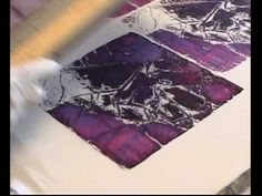 Deconstructed Screen Printing - YouTube Kerr Grabowski (what a great teacher!)