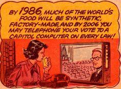 Risultati immagini per zeerust retrofuturism Old Comics, Vintage Comics, Roy Lichtenstein, Science Fiction, Pop Art, How Soon Is Now, Comics Illustration, Future Predictions, Comic Book Panels