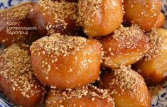 Greek Sweets, Greek Desserts, Low Calorie Cake, Pretzel Bites, Christmas Cookies, Doughnut, Deserts, Food And Drink, Cooking Recipes