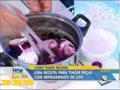 DIY, Tingindo Roupas - YouTube