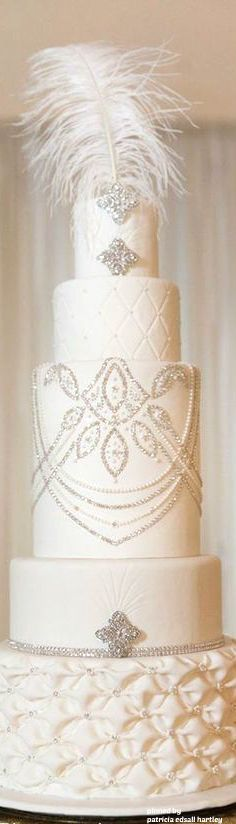 What a wedding cake!