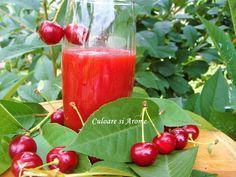 Ce poate fi mai sanatos decat un pahar de nectar de fructe?  Il puteti servi in orice moment al zilei. Iarna, cand oferta de fructe proaspete, de gradina, este saraca ….este si mai bine venit. Ingrediente: –  1,8 kg visine fara samburi –  330 g zahar – 600 ml apa …