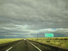 On the way from Flagstaff to Winslow, AZ