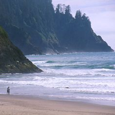 Neskowin Beach State Recreation Site, Neskowin, Oregon - The 31 Best Beach Vacations - Coastal Living Mobile Neskowin Oregon, Neskowin Beach, Vacation Destinations, Vacation Trips, Vacation Spots, Beach Vacations, Vacation Rentals, Places To Travel, Places To See