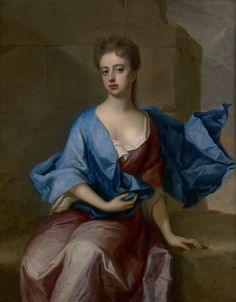 3. Michael Dahl Portrait of Lady Mary Somerset, duchess of Ormond c. 1695, oil on canvas, private collection