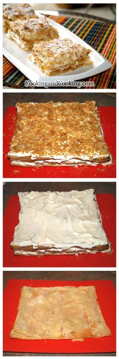 Napoleon Pastry Recipe OMG! This is my favorite dessert from Ingrids in OKC!