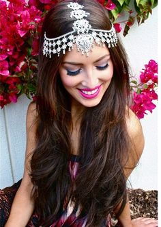 Pakistani Bridal New Hair Style