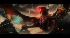 Ancalagon the Black | Community Post: 5 Tolkien Villains That Are Too Big For The Big Screen