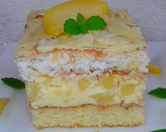 Amaretto Cheesecake, Polish Recipes, Vanilla Cake, Catering, Food And Drink, Baking, Fruit, Easy, Cakes