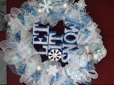 My winter wreath