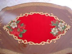 Aprende cómo hacer lindos individuales para esta navidad ~ Haz Manualidades Moon Art, Fabric Painting, Christmas Projects, Pie Dish, Diy And Crafts, Projects To Try, Elsa, Holiday Decor, Home Decor