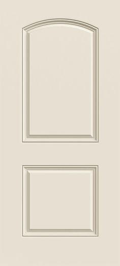 Painted 3068 Arch Top, 2-Panel Fiberglass (Paint Grade)
