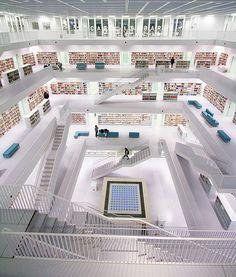 stuttgart city library. #germany #stuttgart #libraries