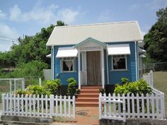 Chattel house: slaves used to take their complete  home with them when moving.)Barbados)