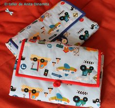 """Hola a tod class=""""separator. Patchwork Baby, Diy Box, Changing Pad, Baby Sewing, Baby Gifts, Diaper Bag, Lunch Box, Diy Crafts, Children"""