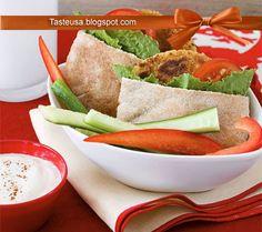 falafel pockets recipe