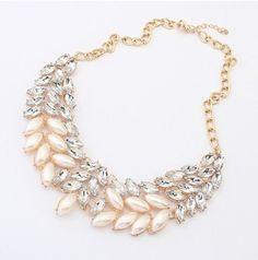 Bejeweled Rhinestones Necklace  #necklace #accessories #rhinestone