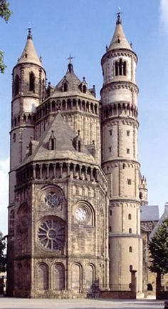 Worms Cathedral - Germany  Love this place