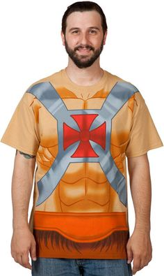 He-Man Costume Shirt