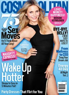 January cover star Cameron Diaz  dishes on her relationships, her mistakes, and what scares her most!