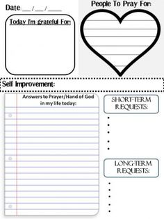 Free Prayer Journal Printable.ggg.not really homechool-ish, but it's a printable. And I got it from homeschoolers. I really need to make more boards and get organized.