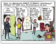 Ted Rall: ObamaCare Website Down? No Problem, Call the NSA
