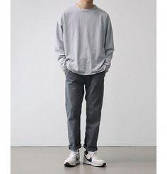 Mens fashion Fall Over 50 - Mens fashion Asian Casual - Mens fashion Casual Korean - - Korean Fashion Men, Big Men Fashion, Look Fashion, Classy Fashion, Fashion Fall, Stil Inspiration, Moda Outfits, Look Man, Vetement Fashion