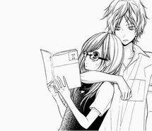 Inspirant de l'image couple animé, noir et blanc, couples, fille, manga, monochrome, Tumblr #2614366 par Maria_D - Résolution 449x378px - Trouver l'image à votre goût