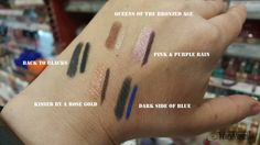 Rimmel London Magnif'eyes Duo swatches
