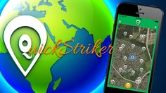 The QuickStriker app is a map-based bulletin board for you to announce or explore events in your community using iPhone geolocation.