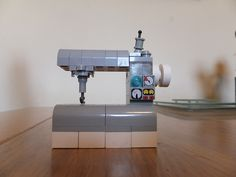 my version of the lego sewing machine | Flickr - Photo Sharing!