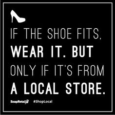 Keep your spending #local. #Shop #small businesses.