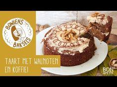 Heerlijke herfsttaart met walnoten en koffie!. Proef de herfst met deze overheerlijke herfsttaart met walnoten en koffie. Lees verder op BonApetit! Sweet Recipes, Muffin, Favorite Recipes, Desserts, Cakes, Baking, Breakfast, Cupcake, Foods