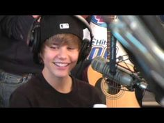 Usher and Justin Bieber on The Bert Show