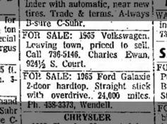 Ewan, Charles: Volkswagen