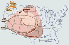 magma yellowstone | El súper volcán de Yellowstone es tan grande que es difícil de ...