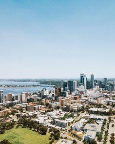 いいね!607件、コメント3件 ― City of Perthさん(@cityofperth)のInstagramアカウント: 「City views☀️ @mavericklam__ #cityofperth #perthskyline #perth」