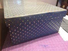 Projects Around the House: Extra Large Gift Box with Lid (finished size about Gift Boxes With Lids, Large Gift Boxes, Box With Lid, Make It Yourself, Projects, Gifts, House, Log Projects, Presents