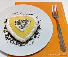 Crostata con crema allo spumante, San Valentino - ricetta