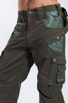 These are the pants you are always looking for. Lots of great style, badass accents and tons of pockets. Keep all you valuable bits like your passport , camera and so on in the fully secure zipe pocke