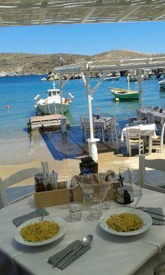 Ahladi Beach (Αχλάδι παραλία) in Σύρος, Κυκλάδες