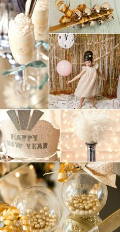 New Year's Eve with Kids party ideas