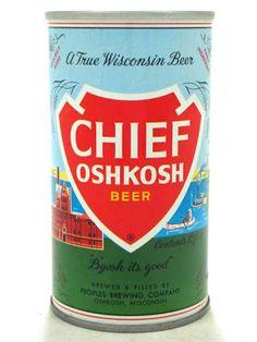 The Wisconsin Project: Chief Oshkosh Beer, #Oshkosh, WI