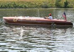 Image result for wood race boat