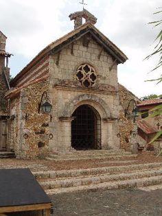 La Romana in Dominican Republic, Altos de Chavón, charming St. Stanislaus Church (Iglesia San Estanislao de Cracovia