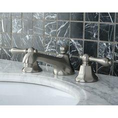 Shop Kingston Brass  KS446 Metropolitan Widespread Faucet at ATG Stores. Browse…