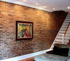 We want the staircase done like this (darker shade of wood, though)